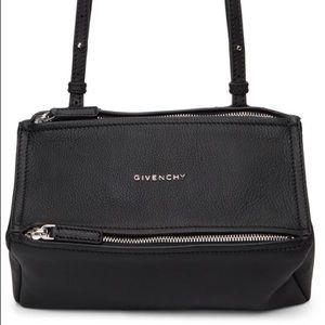 Givenchy Black Mini Pandora Bag purse handbag